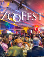 Thank you for joining us at ZooFest 2020! We appreciate your support of our organization and for helping us achieve our mission of connecting people with wildlife, inspiring caring for nature and advancing conservation action.